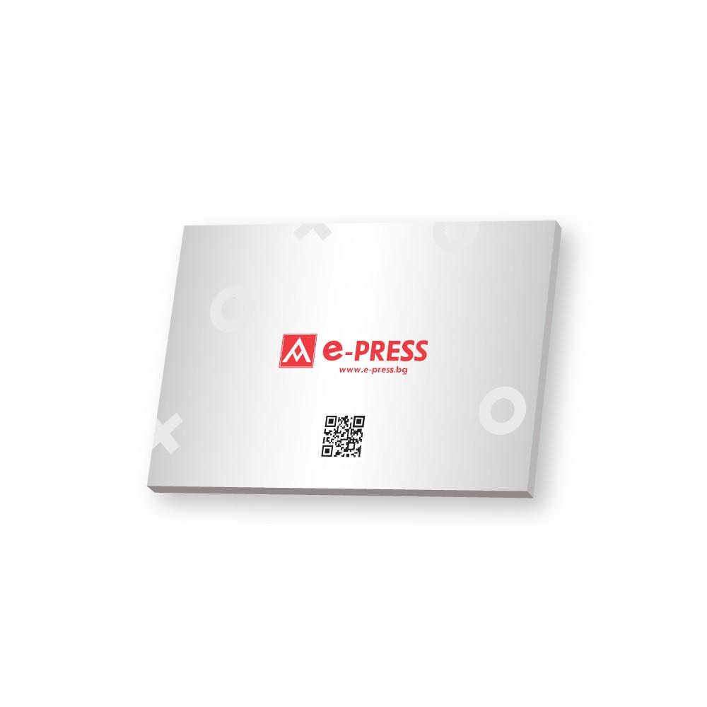 Табели върху PVC A5 (148/210 мм)