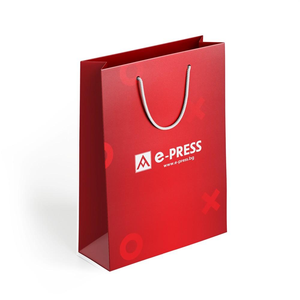 Хартиени торби 235/160/70 мм