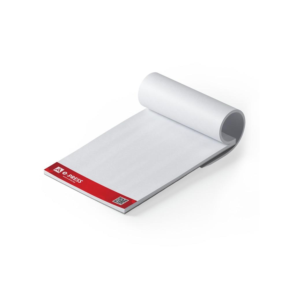 Блокнотове за писане А6 (105/148 мм) - подлепени, 50 листа