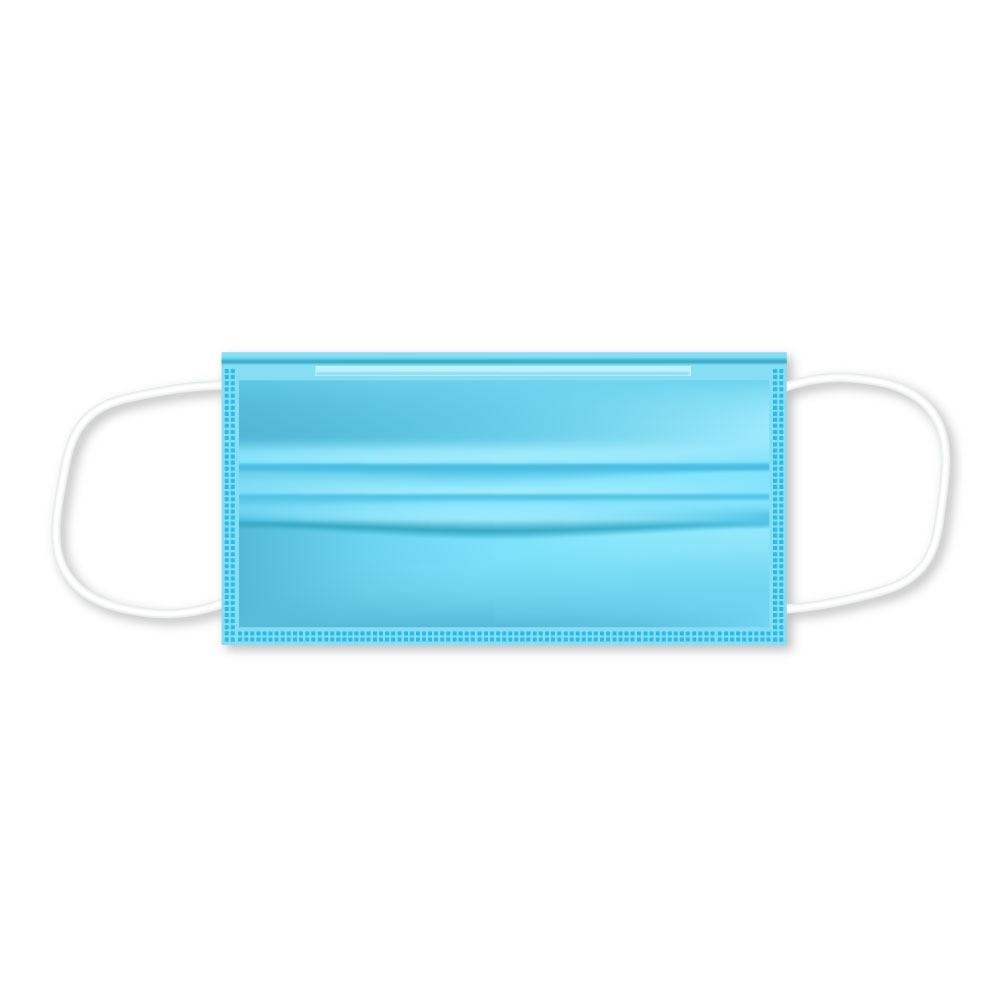 Трипластови санитарни маски с ластик
